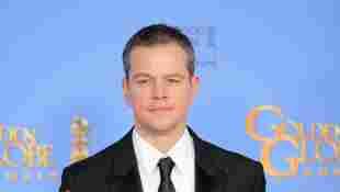 Matt Damon freut sich über einen Golden Globe