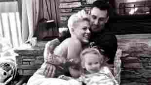 Pink, Carey Hart und Tochter Willow