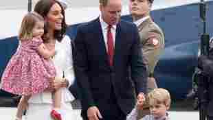 Prinz William Kate Prinz George Prinzessin Charlotte Polen