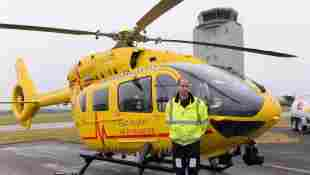 Prinz William als Rettungspilot