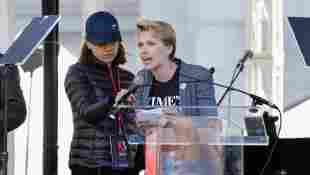 Scarlett Johansson und Mila Kunis beim Women's March 2018 in Los Angeles