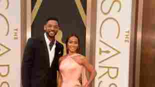 Will Smith und Jada Pinkett Smith gemeinsam bei den Oscars