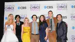 "Der ""Big Bang Theory""-Cast 2013 bei den People's Choice Awards"