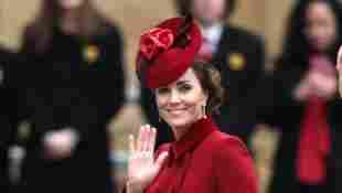 Herzogin Kate in der Westminster Abbey im März 2020