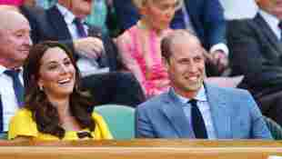 Herzogin Kate und Prinz William in Wimbledon