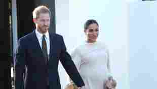 Herzogin Meghan und Prinz Harry bei ihrem Auftritt in Marokko