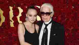 Johnny Depps Tochter Lily-Rose trauert um Designer Karl Lagerfeld
