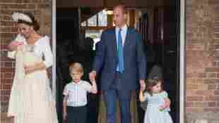 Prinz Louis, Herzogin Kate, Prinz George, Prinz William, Prinzessin Charlotte