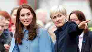 Herzogin Kate und ihre Noch-Privatsekretärin Catherine Quinn