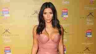Kim Kardashian bei der Vorstellung ihres neuen Parfüms 2018