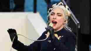Lady Gaga bei der Amtseinführung von Joe Biden im Januar 2021