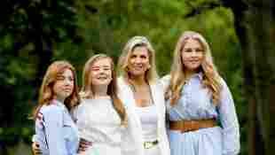 Prinzessin Alexia, Prinzessin Ariane, Königin Máxima und Prinzessin Amalia