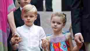 Prinz Jacques und Prinzessin Gabriella bei einem traditionellen Picknick in Monaco 2019
