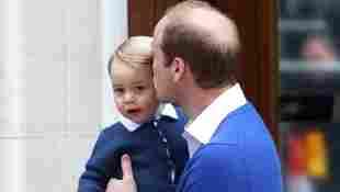 Prinz William und Prinz George im Mai 2018