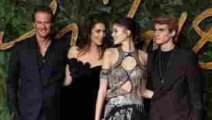 Kaia Gerber, Rande Gerber, Cindy Crawford, Presley Crawford Fashion Awards 2018