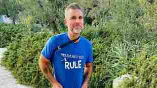 Robbie Williams ist ganz schön grau geworden