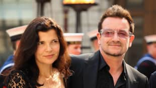 Bono und und seine Frau Ali Hewson bei dem Celebration of the Arts' Event 2012 in London, U2