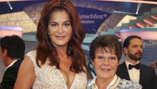 Andrea Berg und ihre Mutter Helga