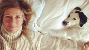 Andrea Kiewel ungeschminkt Hund