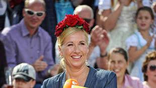 Andrea Kiewel; ZDF Fernsehgarten