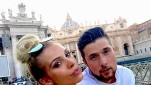 Aneta Sablik und Freund Kevin