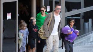 Angelina Jolie, Brad Pitt und die gemeinsamen Kinder