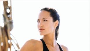 "Angelina Jolie als ""Lara Croft"" in ""Tumb Raider"""