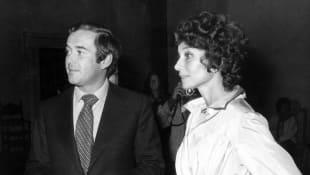Audrey Hepburn und Andrea Dotti