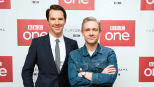 Benedict Cumberbatch und Martin Freeman