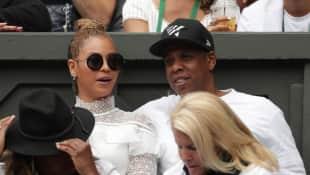 Beyoncé und Jay-Z beim Wimbledon-Finale