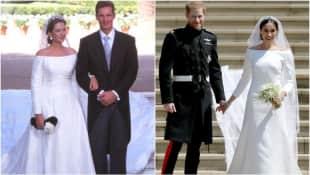 Meghan Markles Hochzeitskleid erinnert an das von Cristina von Spanien