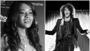 Bobbi Kristina Brown und Whitney Houston