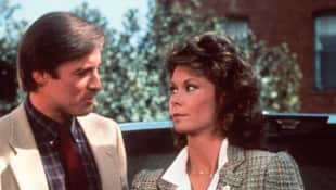 "Bruce Boxleitner and Kate Jackson in ""Scarecrow & Mrs. King"""