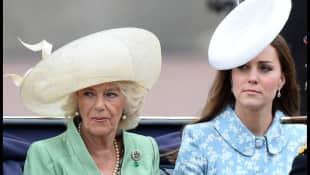 "Camilla und Kate Middleton bei der ""Trooping the Colour""-Militärparade"