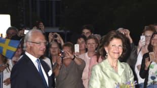 Carl Gustaf von Schweden und Königin Silvia