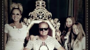 Carmen, Robert, Davina Shakira und Shania Tyra Geiss