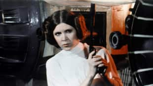 """Prinzessin Leia"" Carrie Fisher Star Wars"
