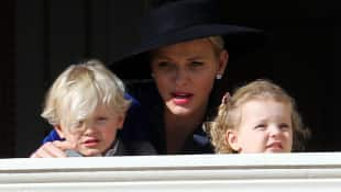 Fürstin Charlène von Monaco Prinz Jacques Prinzessin Gabriella