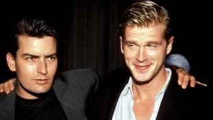Charlie Sheen und Cary Elwes