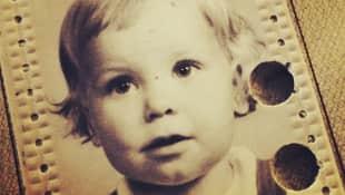 Charlotte Würdig als Kind