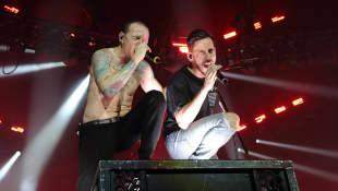 Chester Bennington und Mike Shinoda