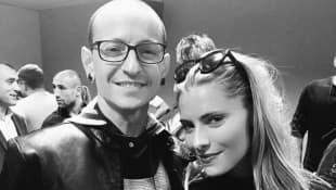 Chester Bennington und Sophia Thomalla