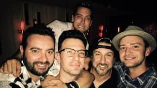 Chris Kirkpatrick, JC Chasez, Joey Fatone, Justin Timberlake und Lance Bass