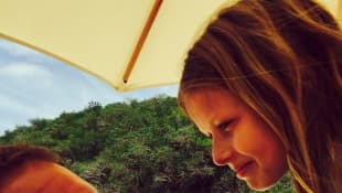 Chris Martin und Tochter Apple
