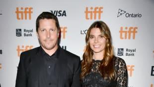 Christian Bale und Sibi Blazic