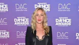 Christina Applegate bei den Industry Dance Awards mit sexy Spitzen-BH