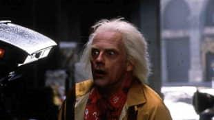 """""""Zurück in die Zukunft"""" """"Dr. Emmett 'Doc' Brown"""" heute"""