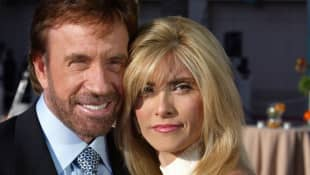Chuck Norris und Gena O'Kelley