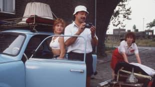 Claudia Schmutzler, Wolfgang Stumph und Marie Gruber