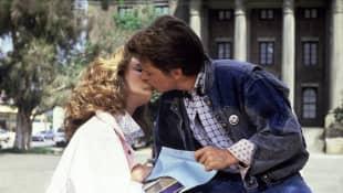 """Claudia Wells und Michael J. Fox in """"Zurück in die Zukunft"""""""